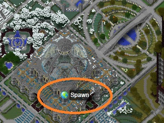 Spawn mouseover icon